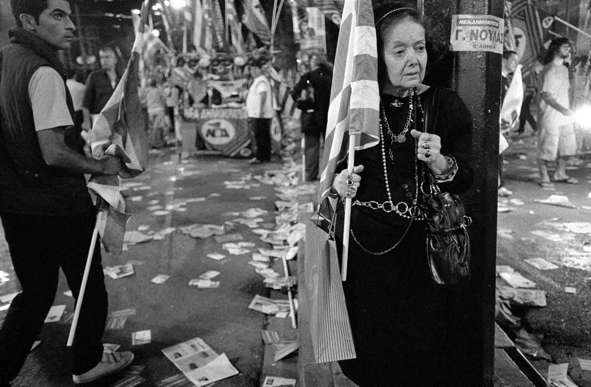 POLITICAL TRIBES | Photographs from pre-election rallies in Athens
